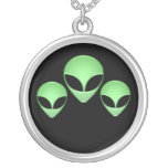 Alien Trio Necklace