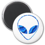 Roswell Alien Round Magnet Magnets